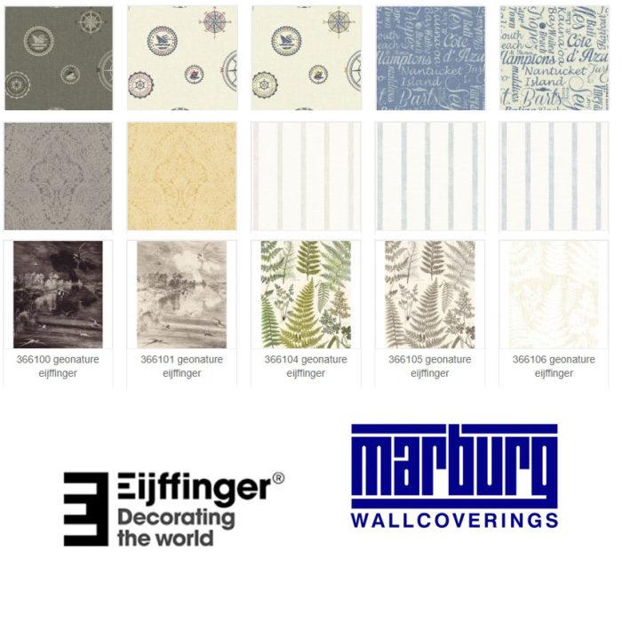 • EIJFFINGER e MARBURG azienda Wallcover